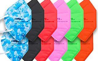 mascarillas de colores