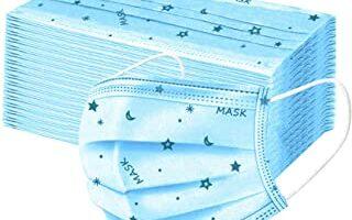 mascarillas niños de Lunas de las Estrellas Azules