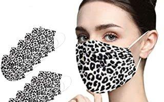 mascarillas Estampado de Leopardo