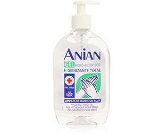 Anian - Hidro-Alcohólico Gel de Manos, 500 ml