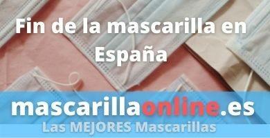fin de la mascarilla en España